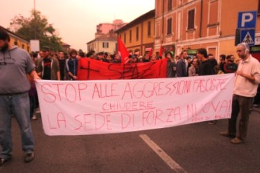 Aggressione fascista a Pavia