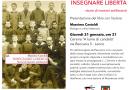 """""""Insegnare libertà. Storie di maestri antifascisti"""". Presentazione a Lecco il 31/1"""